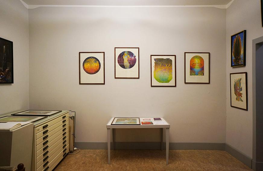 "Ausstellungseinsicht ""ARS MEMORIAE. Aude de Kerros"", 2018"