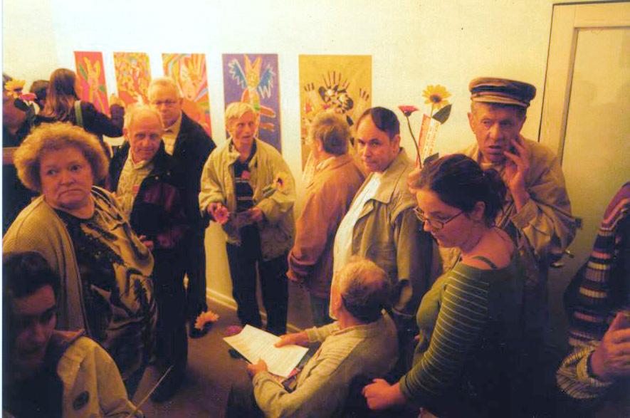 Regina Hoffmann-Detlef von Dossow, Kreative Werkstatt Lobetal, 3.2012
